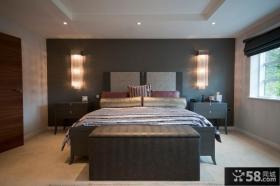 现代简约卧室灯具装修效果图