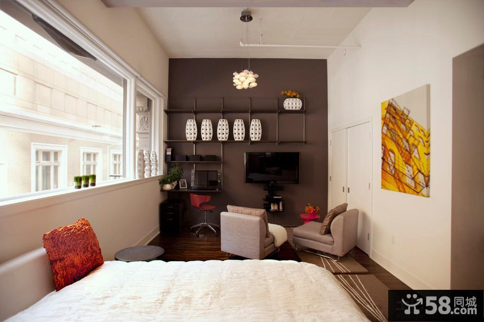 单身公寓设计图图片