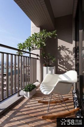 小阳台装修设计效果图欣赏