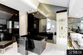 现代风格复式公寓卫生间设计效果图