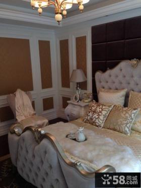 欧式家庭设计卧室图片大全欣赏