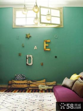 5万打造清新90平米三居欧式田园家居卧室背景墙