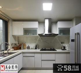 简约家装厨房集成吊顶装修效果图