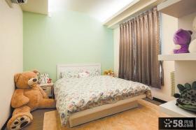 简约时尚儿童房间布置图片