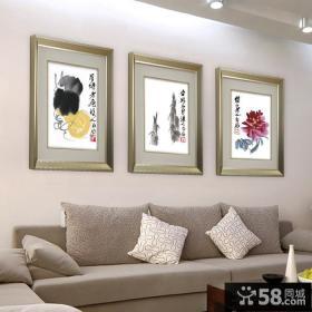 中式客厅装饰画图片大全