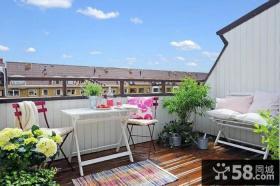 简约家装小阳台设计效果图