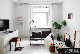 简约风格客厅飘窗效果图欣赏