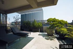 2015现代复式阳台装修效果图