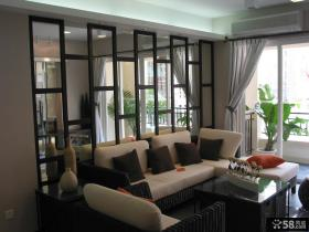 80平米小户型公寓客厅装修效果图