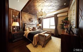 高档装修卧室吊顶效果图片