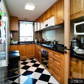 混搭复式厨房装修案例