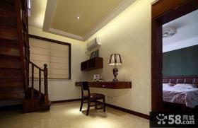 新中式别墅楼梯间装修设计