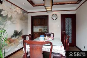 中式古典餐厅装修设计