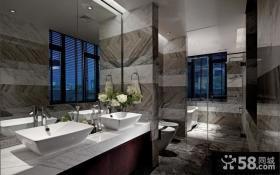 别墅样板房卫生间装修效果图