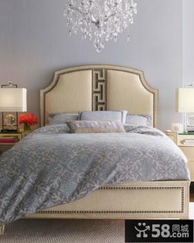 素雅的小户型卧室装修效果图大全2014图片