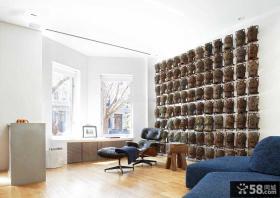现代设计室内飘窗装修图