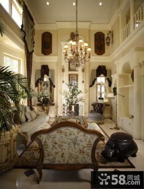 别墅挑高客厅装修设计