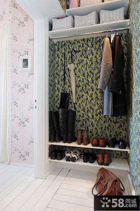 进门玄关鞋柜设计效果图片