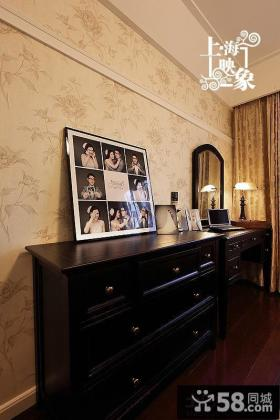 美式风格实木装饰柜效果图大全