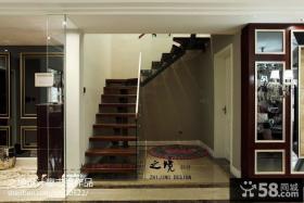 复式楼楼梯装修效果图大全2013