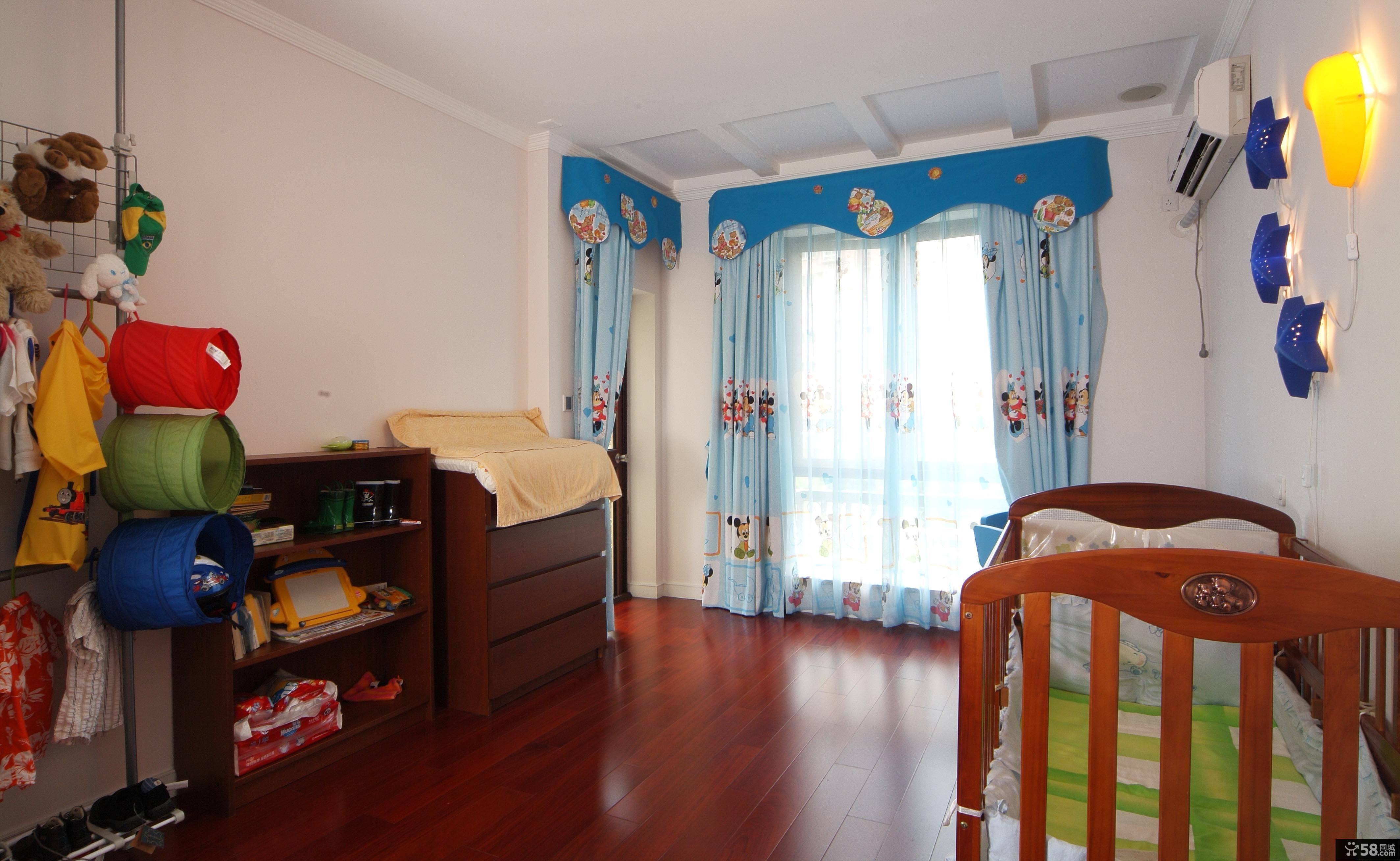 美式风格家居设计可爱儿童房装修