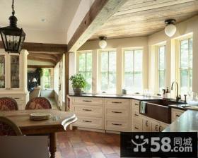 现代飘窗厨房设计图片