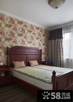地中海风格卧室壁纸效果图