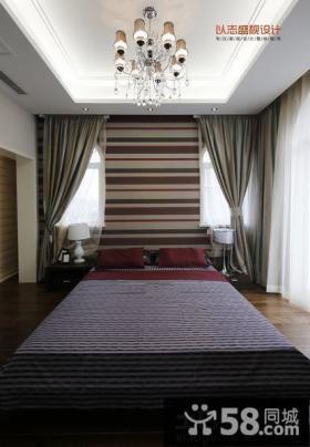 复式楼卧室吊顶装修效果图片欣赏