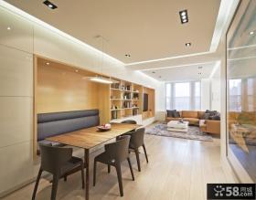 90平米小户型时尚室内餐厅装修效果图大全2012图片