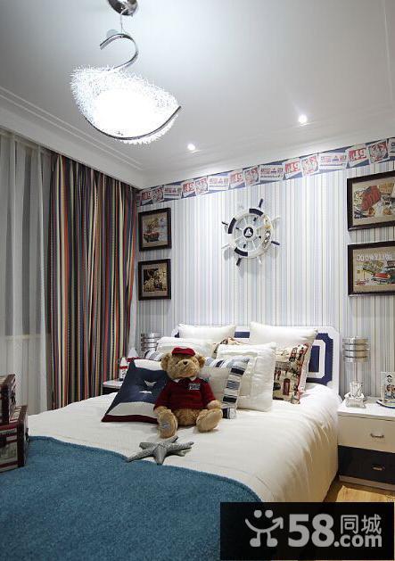 现代小儿童房间色彩搭配装饰图片图片