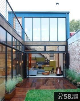 现代别墅内院设计