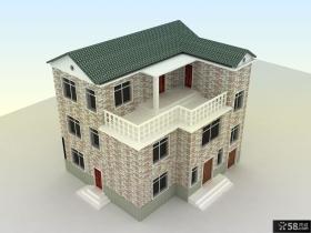 三层别墅房屋设计图