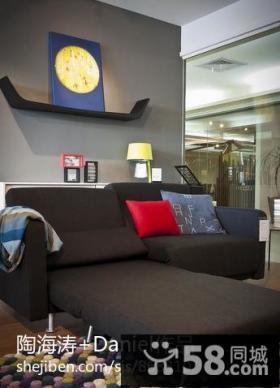 现代风格客厅沙发图片