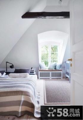 斜顶卧室室内设计