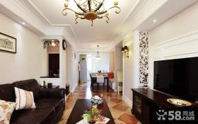 小户型客厅沙发靠垫图片欣赏