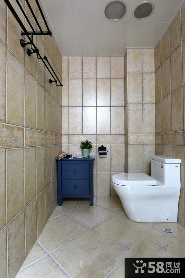 美式卫生间装修效果图大全2015图片