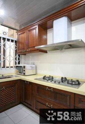 古典中式厨房装潢设计