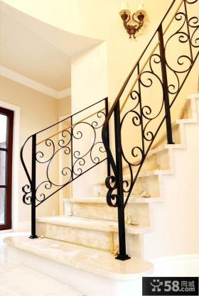 铜楼梯装修效果图欣赏