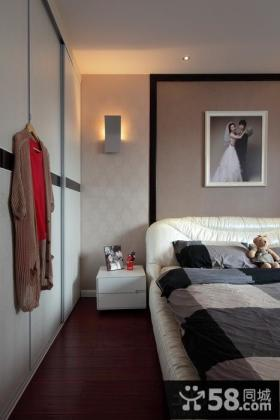 家居风格婚房装修样板卧室设计