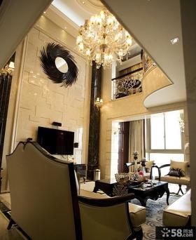 欧式风格复式公寓装修效果图