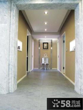 现代走廊吊顶装修效果图