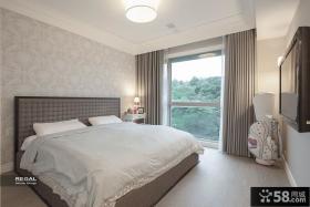 简欧风格别墅卧室设计图片