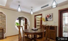 家居中式餐厅设计效果图片