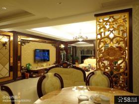别墅客厅电视背景墙装修设计
