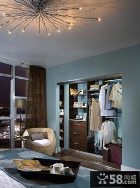 房间小衣帽间布置