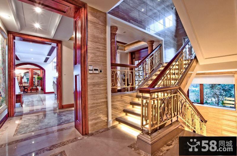 別墅樓梯間裝修