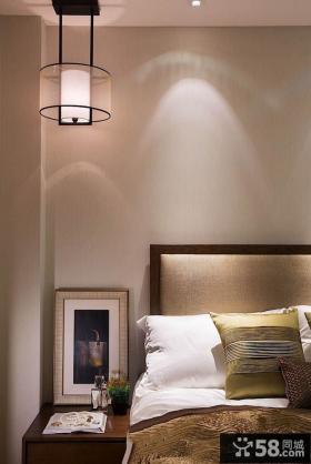 最新简约风格卧室床头灯具效果图
