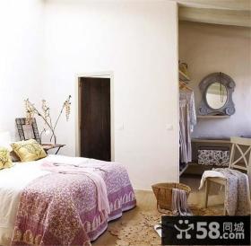 复式楼温暖明亮的西班牙风情卧室装修效果图大全2013图片