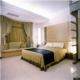 现代中式风格家居设计卧室欣赏