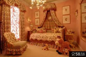 古典欧式儿童房装潢